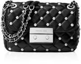 MICHAEL Michael Kors Small Sloan Faux-Pearl Chain Shoulder Bag