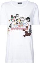 Dolce & Gabbana cartoon print T-shirt - women - Cotton - 38