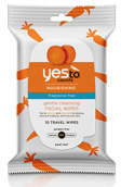 Yes To Carrots Nourishing Fragrance Free Gentle Cleansing Wipes x10