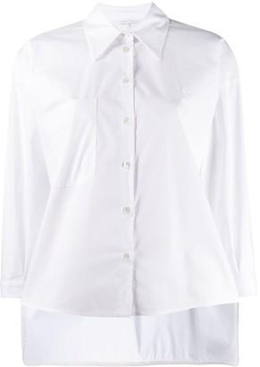Patrizia Pepe Pointed Collar Shirt