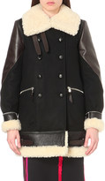 Altuzarra Ismir wool-blend and leather coat