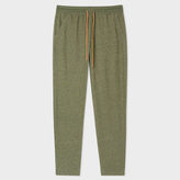 Men's Khaki Jersey Cotton Lounge Pants