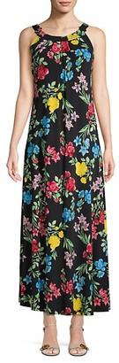 Calvin Klein Floral Maxi Dress