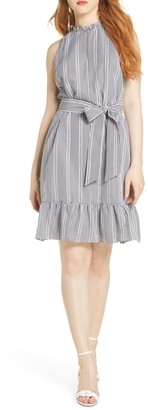 Sam Edelman Gingham Print A-Line Dress