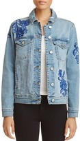 Blank NYC BLANKNYC Embroidered Denim Jacket - 100% Exclusive