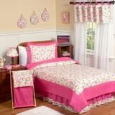 JoJo Designs Sweet Mod Circles 4-Piece Twin Bedding Set in Pink/Green