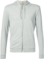 Majestic Filatures knitted zip hooded sweater - men - Cotton - S