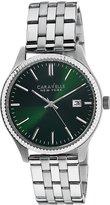 Bulova Caravelle New York Men's 43B130 Analog Display Japanese Quartz White Watch