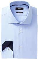 HUGO BOSS Gregory Stripe Regular Fit Dress Shirt