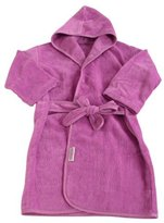 Silly Billyz 17531 Babies' Bath Robe Organic Cotton for Age 9 Months to 2 Years Raspberry by