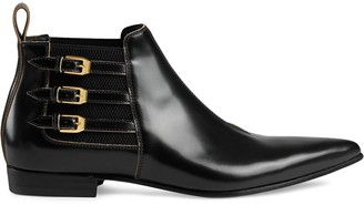 Gucci Pointed Ankle Boots