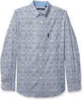 Ben Sherman Men's LS Multi Plaid Shirt