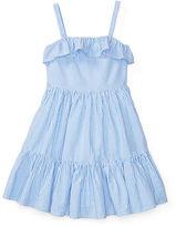 Ralph Lauren 2-6X Seersucker Sleeveless Dress