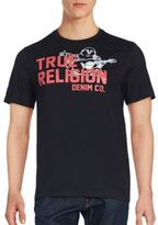 True Religion Graphic Print Cotton Tee