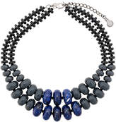 Emporio Armani double stranded necklace