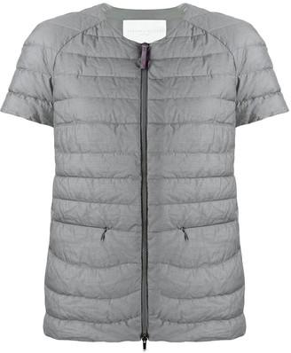 Fabiana Filippi Short-Sleeved Puffer Jacket