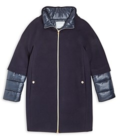 Herno Girls' Woven Quilted Jacket - Big Kid