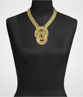 Knotted Multi-Chain Necklace