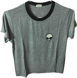 Brandy Melville Grey Cotton Tops