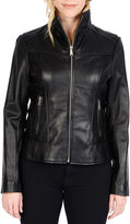 Excelled Leather Excelled Lambskin Scuba Jacket