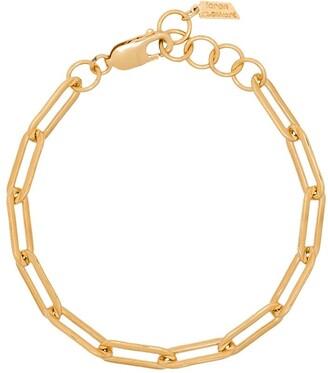 Loren Stewart 14K gold-plated chain link bracelet