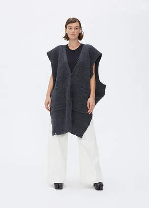 Maison Margiela Sleeveless V-Neck Cardigan