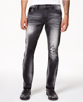 INC International Concepts Anna Sui x Men's Skinny-Fit Stretch Destroyed Jeans, Created for Macy's