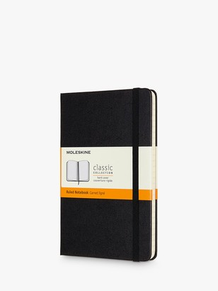 Moleskine Medium Hardcover Ruled Notebook