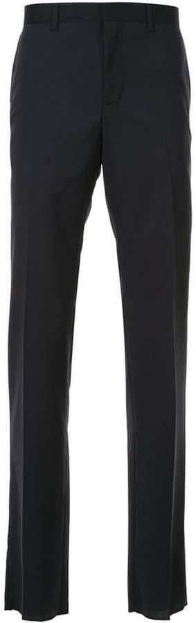 Cerruti jacquard tailored trousers