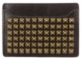 DSQUARED2 Studded Leather Card Case
