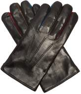 Paul Smith Contrast-concertina leather gloves