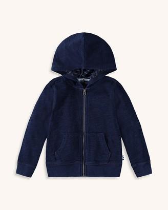 Splendid Little Boy Double Knit Indigo Hoodie