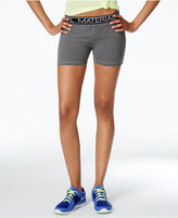 Material Girl Active Juniors' Printed Pull-On Shorts, Only at Macy's