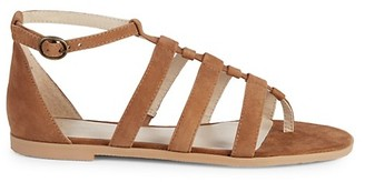 Seychelles Contribution Strappy Suede Toe-Ring Sandals