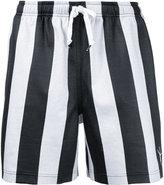 Alexander Wang striped soccer shorts