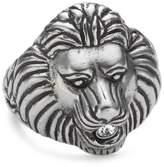 Dyrberg/Kern 331791 Kimba Ii Steel Swarovski Crystal Ring Size O