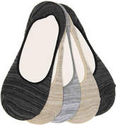 Steve Madden Marled No Show Liners - 5 Pack - Women's