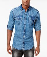 INC International Concepts Men's Denim Shirt, Created for Macy's