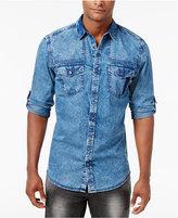 INC International Concepts Men's Denim Shirt, Only at Macy's