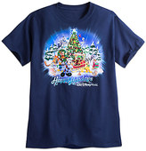 Disney Santa Mickey Mouse and Friends Holiday Tee for Adults - Walt World