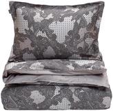 Gant Libby Paisley Duvet Cover Grey Superking