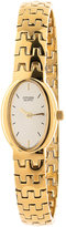 American Apparel Citizen Gold Oval Ladies' Metal Band Watch
