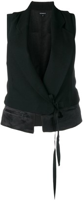 Ann Demeulemeester Wrap-Around Gilet