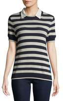Marella Striped Crewneck Tee