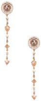 Artisan 14K Rose Gold & 5.13 Total Ct. Diamond Ice Earrings