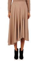 Nina Ricci Women's Multi-Seamed Flared Skirt-BEIGE, TAN