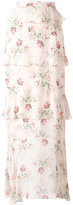 Vilshenko floral print skirt