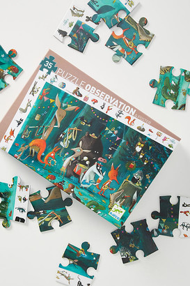 Djeco Animal Orchestra Observation Puzzle By in Blue