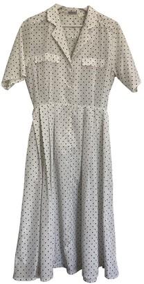 Cacharel White Polyester Dresses