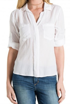 Bella Dahl Split-Back Button Down